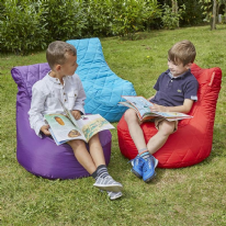 Sensory Quilted Flop Pod Bean Bag